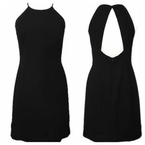 Laundry by Shelli Segal Open Back Black Cocktail 8